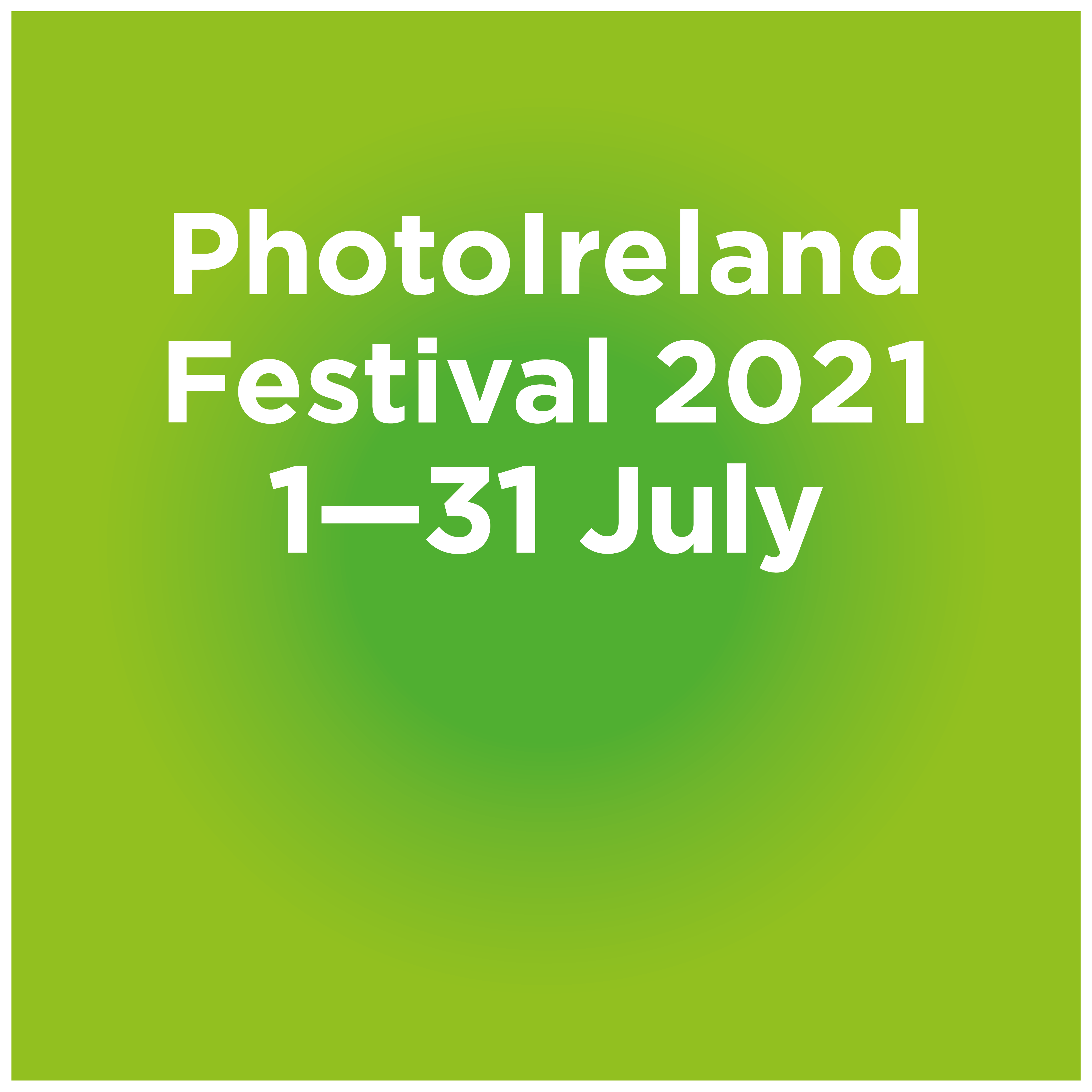 PhotoIreland Festival 2021